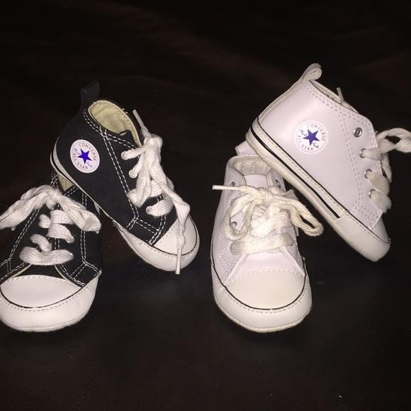 508899b5bb090e Converse Other - ‼️bundles price‼️2 pair of baby converse